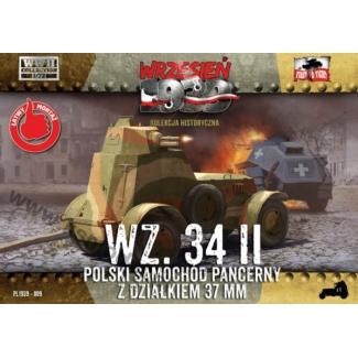 First to Fight Polski sam. pan. z dział. 37 mm WZ.34 II (1:72)