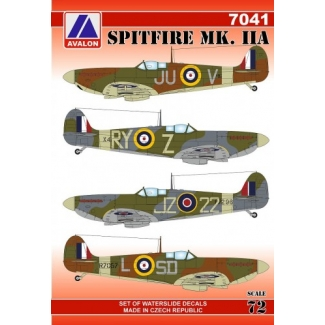 Spitfire Mk.IIA (1:72)