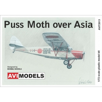 Puss Moth over Asia (1:72)