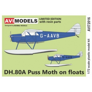 DH.80A Puss Moth on floats (1:72)