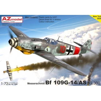 Messerschmitt Bf 109G-14/AS JG.300 (1:72)