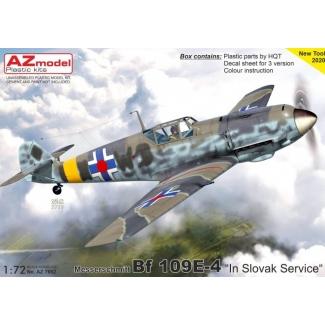"""Messerschmitt Bf 109E-4 """"In Slovak Service"""" (1:72)"""