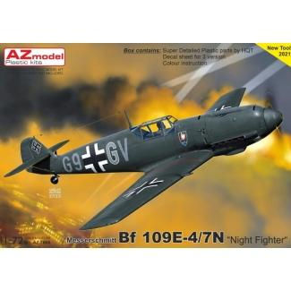 """Messerschmitt Bf 109E-4/7 """"Night Fighter"""" (1:72)"""