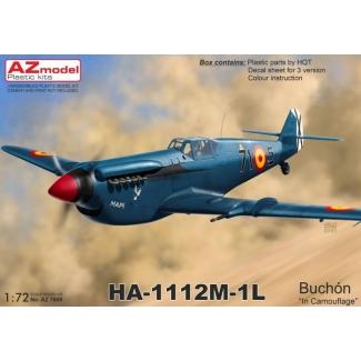 """HA-1112M-1L Buchón """"In Camouflage"""" (1:72)"""