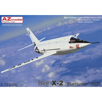 """Bell X-2 """"Starbuster"""" 6675 (1:72)"""