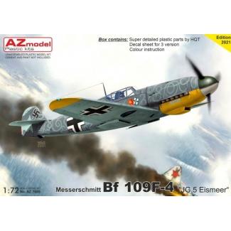"""Messerschmitt Bf 109F-4 """"JG.5 Eismeer"""" (1:72)"""