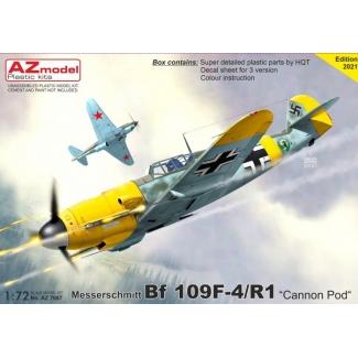 """Messerschmitt Bf 109F-4/R1 """"Cannon Pod"""" (1:72)"""