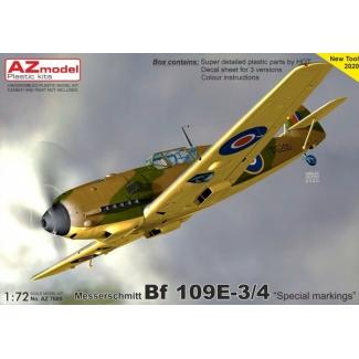 """Messerschmitt Bf 109E-3/4 """"Special markings"""" (1:72)"""