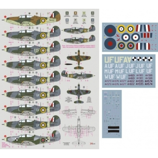 Airacobra Mk.I in RAF service (1:48)
