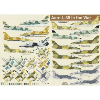 Aero L-39 in the War (1:72)