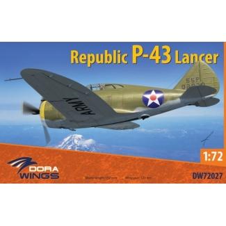 Dora Wings 72027 Republic P-43 Lancer (1:72)