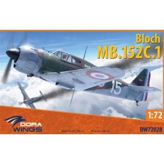 Dora Wings 72028 Bloch MB.152 (late) (1:72)