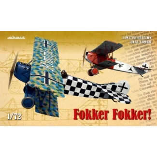 Eduard 2133 Fokker Fokker! (Dual Combo) - Limited Editon (1:72)