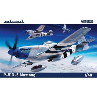 Eduard 84172 P-51D-5 Mustang™ - Weekend Edition (1:48)
