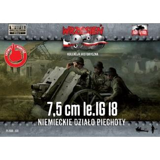 First to Fight 7,5cm Ie IG 18 Niemieckie dzialo piechoty (1:72)