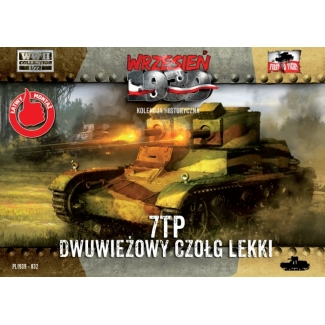 First to Fight 7TP Dwuwiezowy czolg lekki  (1:72)