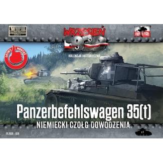 First to Fight Panzerbefehlswagen 35(t) Niemiecki czołg dowodzenia (1:72)