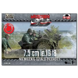 First to Fight 7,5cm le IG 18 Niemieckie Działo Piechoty (1:72)