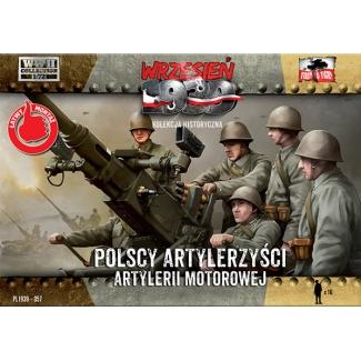 First to Fight Polscy Artylerzyści Artylerii Motorowej (1:72)