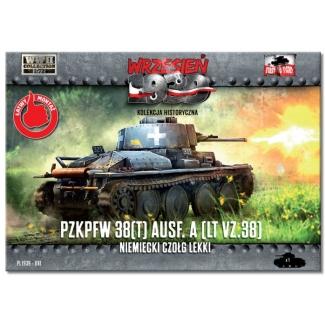 First to Fight PzKpfw 38(t) Ausf. A (LT VZ .38) Niemiecki Czołg Lekki (1:72)