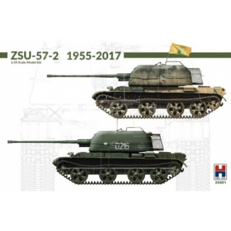 Hobby 2000 35001 ZSU-57-2 1955-2017 w/bonus (11 Painting and Marking ) - Limited Edition (1:35)