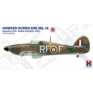 """Hobby 2000 72001 Hawker Hurricane Mk.IA """"Squadron 303 Battle of Britain 1940"""" - Limited Edition (1:72)"""