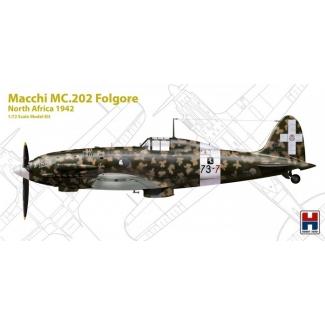"Hobby 2000 72006 Macchi MC.202 Folgore ""North Africa 1942"" - Limited Edition (1:72)"