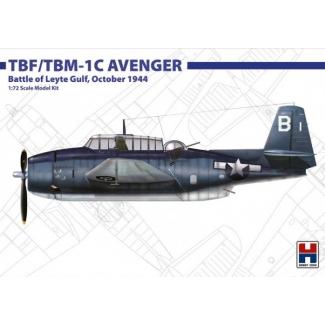 Hobby 2000 72010 TBF/TBM-1C Avenger Battle of Leyte Gulf, October 1944 - Limited Edition (1:72)