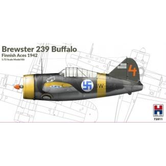 Hobby 2000 72011 Brewster 239B Buffalo Finnish Aces 1942 - Limited Edition (1:72)
