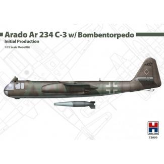 Hobby 2000 72050 Arado Ar 234 C-3 w/ Bombentorpedo Initial Production  - Limited Edition (1:72)