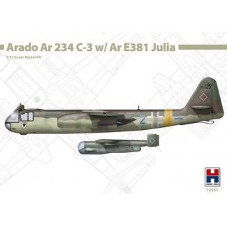 Hobby 2000 72051 Arado Ar 234 C-3 w/ Ar E381 Julia  - Limited Edition (1:72)