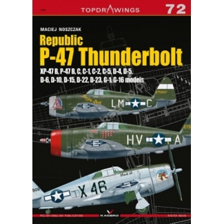 Republic P-47 Thunderbolt Xp-47B, B,C,D,G