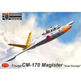 """Fouga CM-170 Magister """"Over Europe"""" (1:72)"""