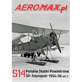 Aeromax nr specjalny 14 Polskie statki powietrzne SP- 1954-56 fotorejestr vol.2
