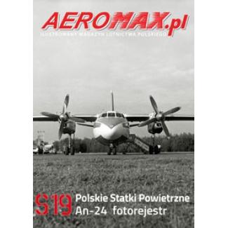 Aeromax nr specjalny 19 An-24 fotorejestr