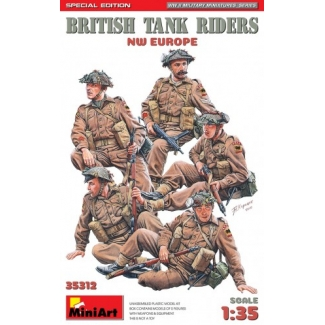 British Tank Riders (NW Europe) - Special Edition (1:35)