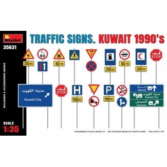 Traffic Signs. Kuwait 1990's (1:35)