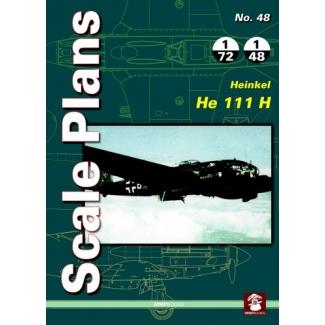 Scale Plans No.48 Heinkel He 111H (1:72,1:48)