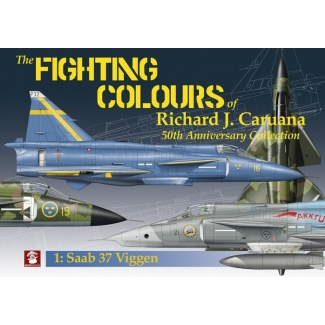 The Fightning Colours of Richard J.Caruana. 50th Anniversary.No.1 Saab 37 Viggen