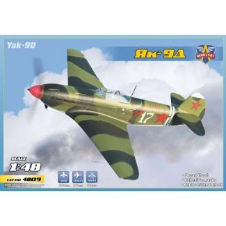 Yak-9D Longe-range WWII fighter (1:48)