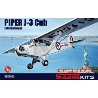 Piper J-3 Cub International (1:48)