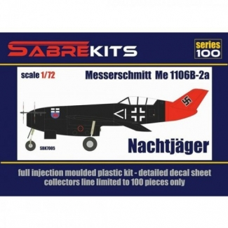 Messerschmitt Me 1106B-2a Nachtjäger (1:72)