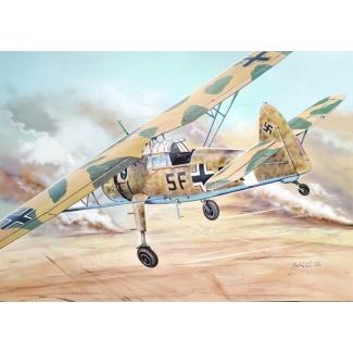 """Henschel Hs-126 """"In Africa"""" (1:72)"""
