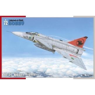 JA-37 Viggen Fighter (1:72)