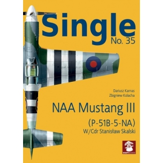 Stratus Single Nr.35 NAA Mustang III (P-51B-5-NA) W/Cdr Stanisław Skalski