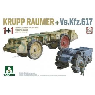 Krupp Räumer + Vs.Kfz. 617 (1:72)