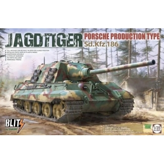 Jagdtiger Sd.Kfz.186 Porsche Production type (1:35)