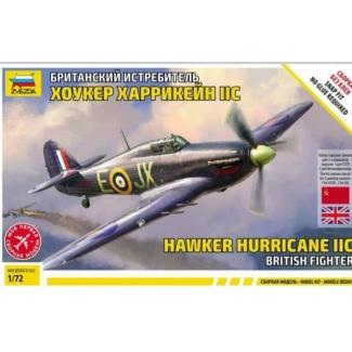 Zvezda 7322 Hawker Hurricane IIc (1:72)